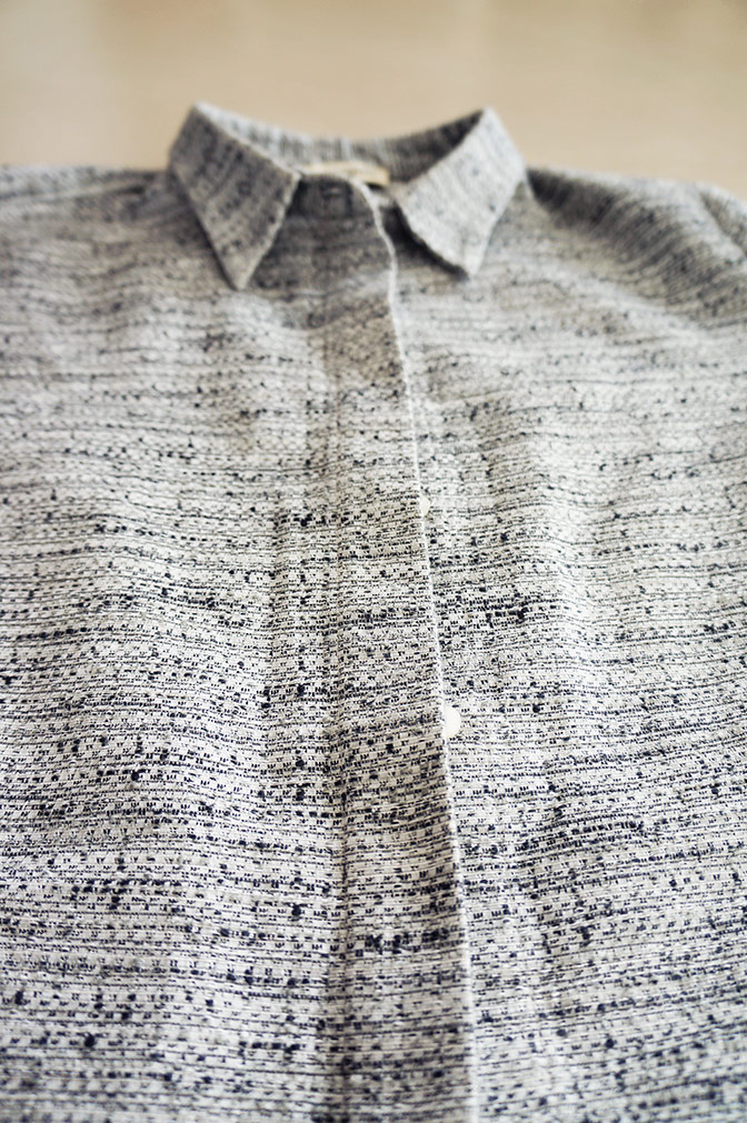 Carin Wester Grey Jacket detail 1