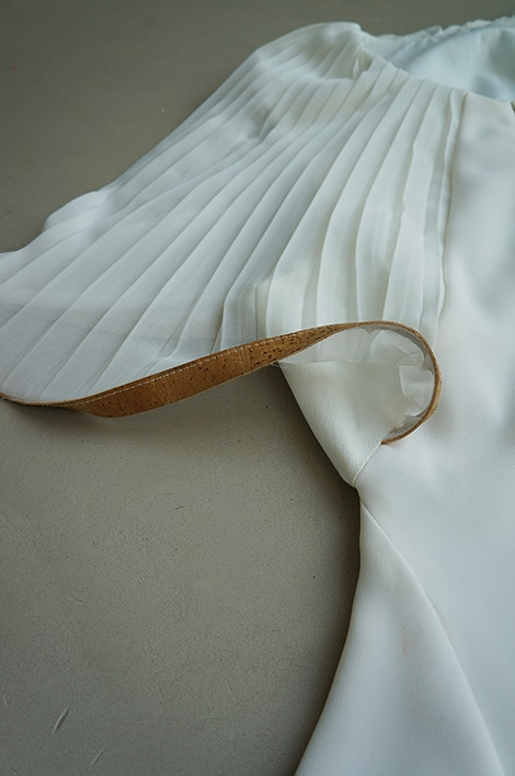 White dress by byBrown - detail 1