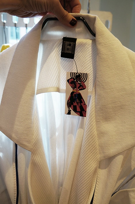 M.E.N. collection at the X-Bank - white jacket