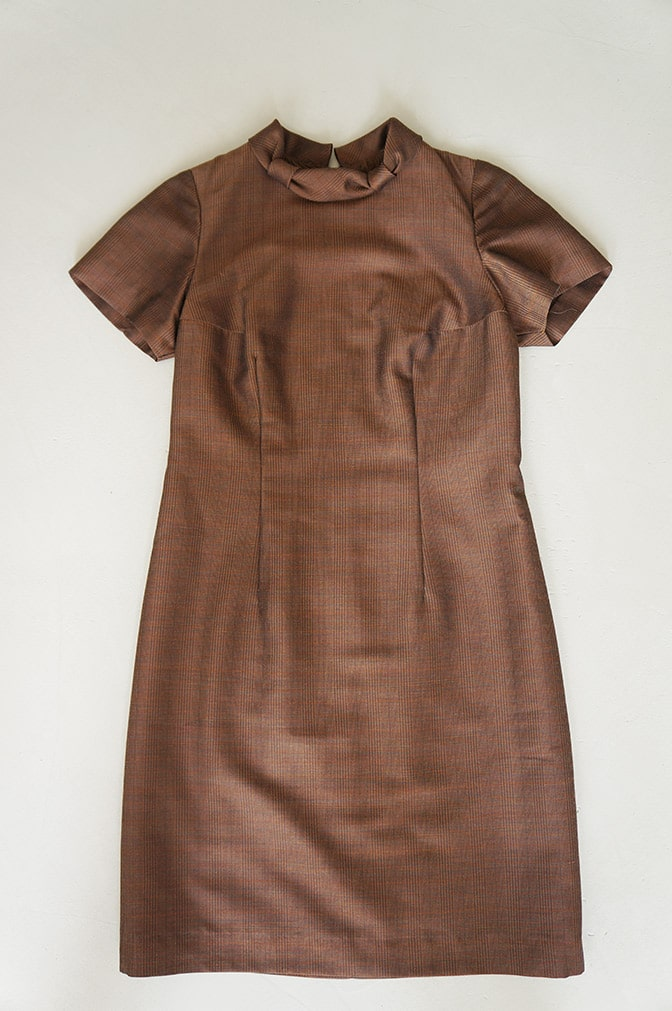 Vintage brown dress