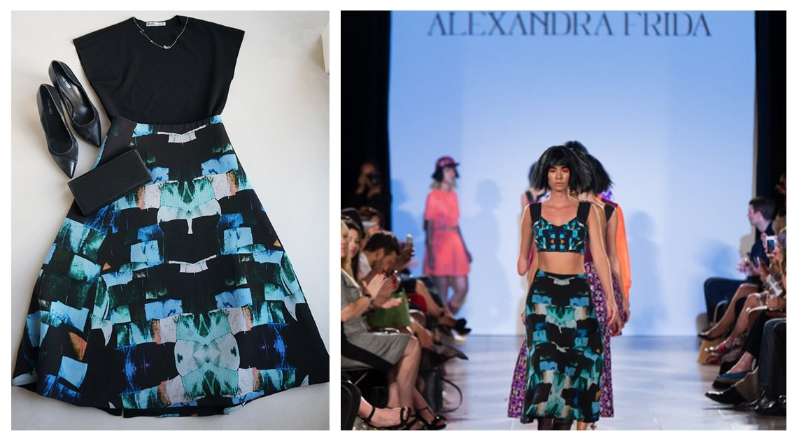 This Alexandra Frida skirt valued at € 700,00!