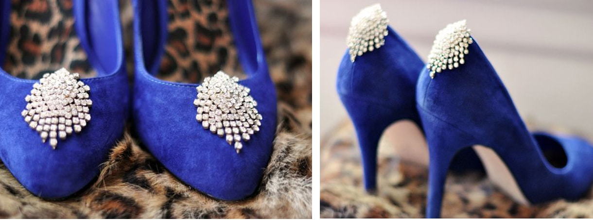 Add sparkle to your shoe for a night out